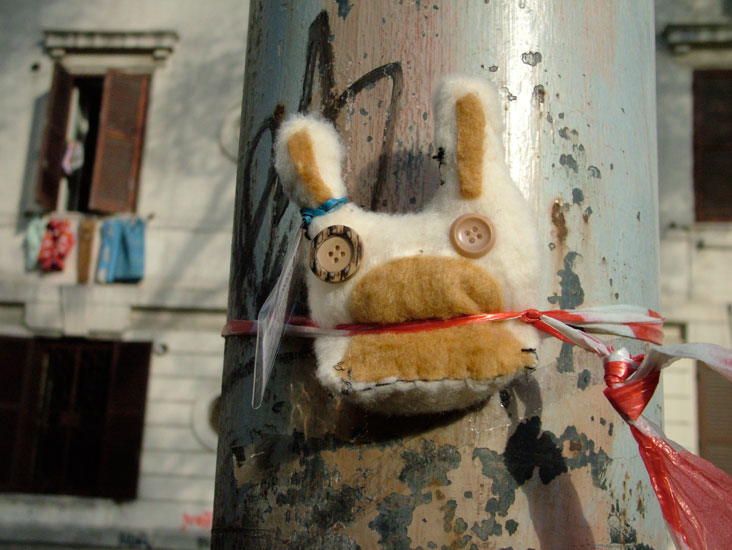 Theft and Rescue Bunny in Rome
