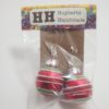 Red ornament Earring