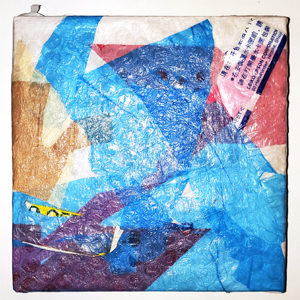 Plastic Bag Fabric Wall Art 5